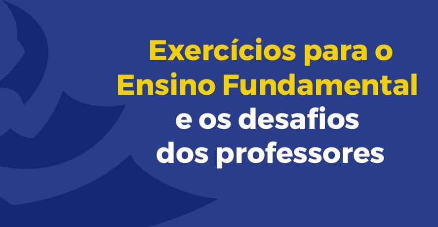 exercícios para o ensino fundamental